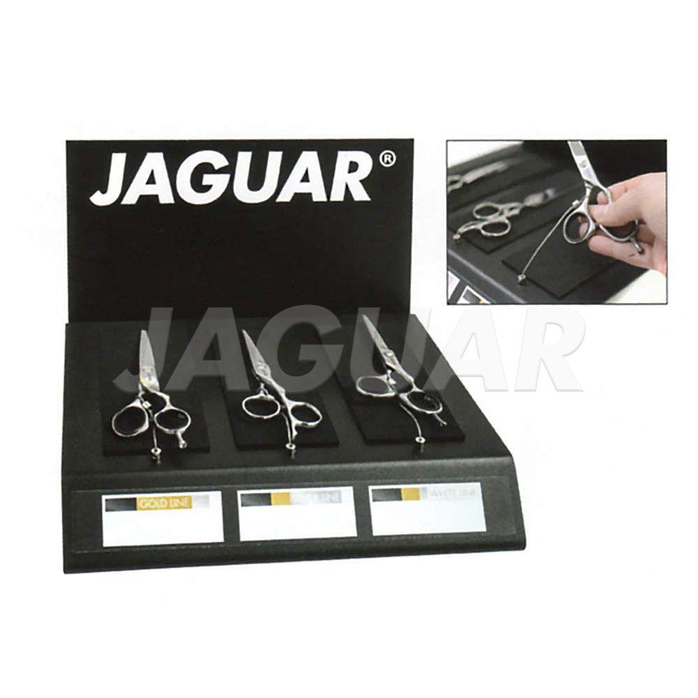 Вітрина торговельна для трьох ножиць із захистом від крадіжки JAGUAR HOLD IMAGE